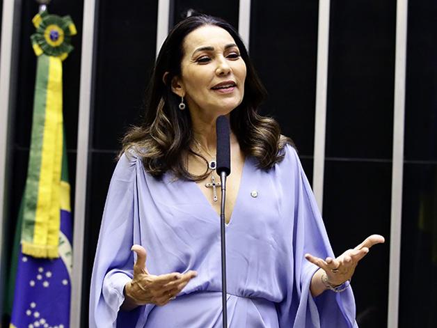 A deputada Margarete Coelho