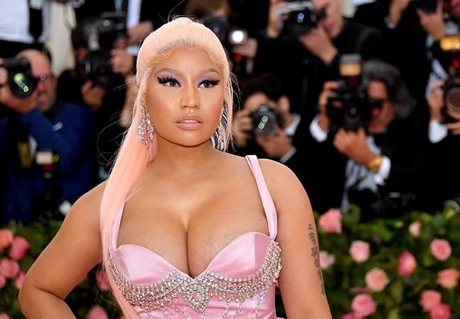 Nicki Minaj cita testículos de amigo do primo em fala negacionista sobre vacina