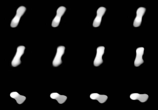 Asteroide em forma de 'osso de cachorro' é analisado em imagens inéditas