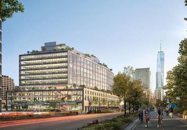 O novo prédio de 2.1 bilhões de dólares do Google em Manhattan