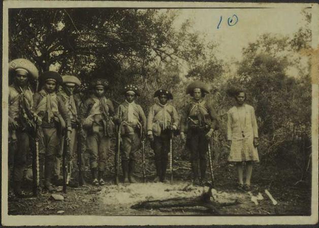 O bando de Lampião, em 1936