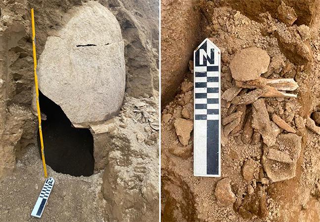 Urnas funerárias encontradas no Equador revelam restos mortais de povo anterior à invasão europeia