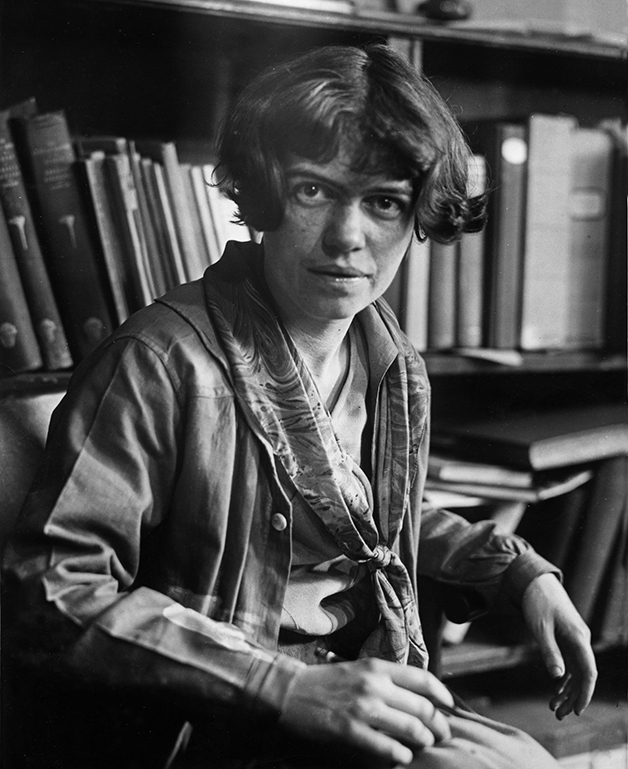 A jovem Margaret Mead