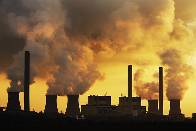 Usina termoelétrica de carvão na China