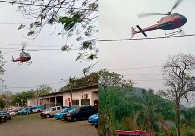 Piloto de helicóptero sequestrado no RJ entrou em luta corporal com bandidos no ar