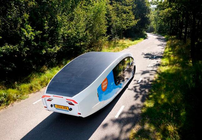 Stella Vita: primeiro motorhome movido a energia solar é criado por estudantes na Holanda