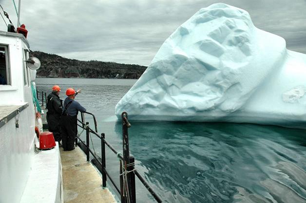 """""""Pescar"""" gelo é uma prática especialmente perigosa"""