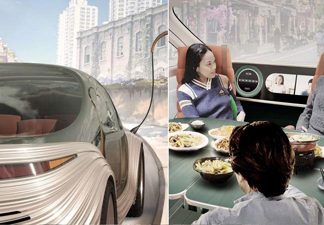Carro que 'come poluição' é lançado para andar sozinho ou com motorista
