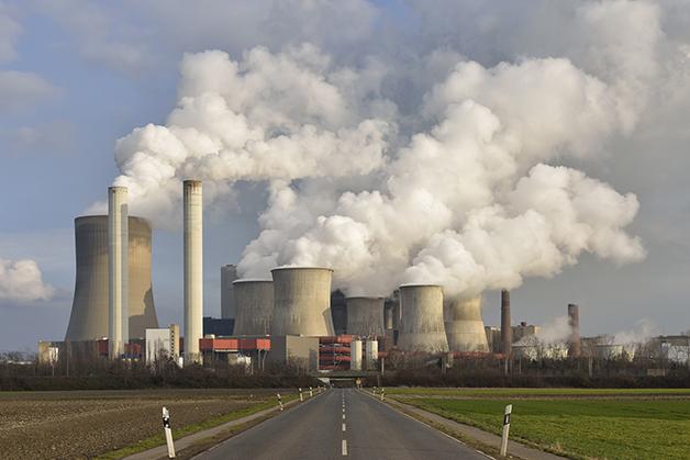 Usina de carvão na Alemanha