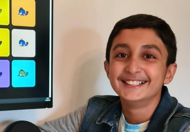 Garoto de 12 anos ganha fortuna em NFTs com arte digital de baleias