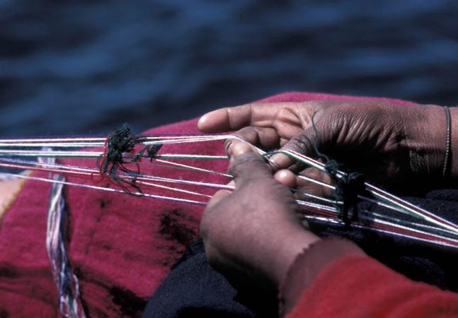 Nesta ilha a ideia de masculinidade está associada ao tricô