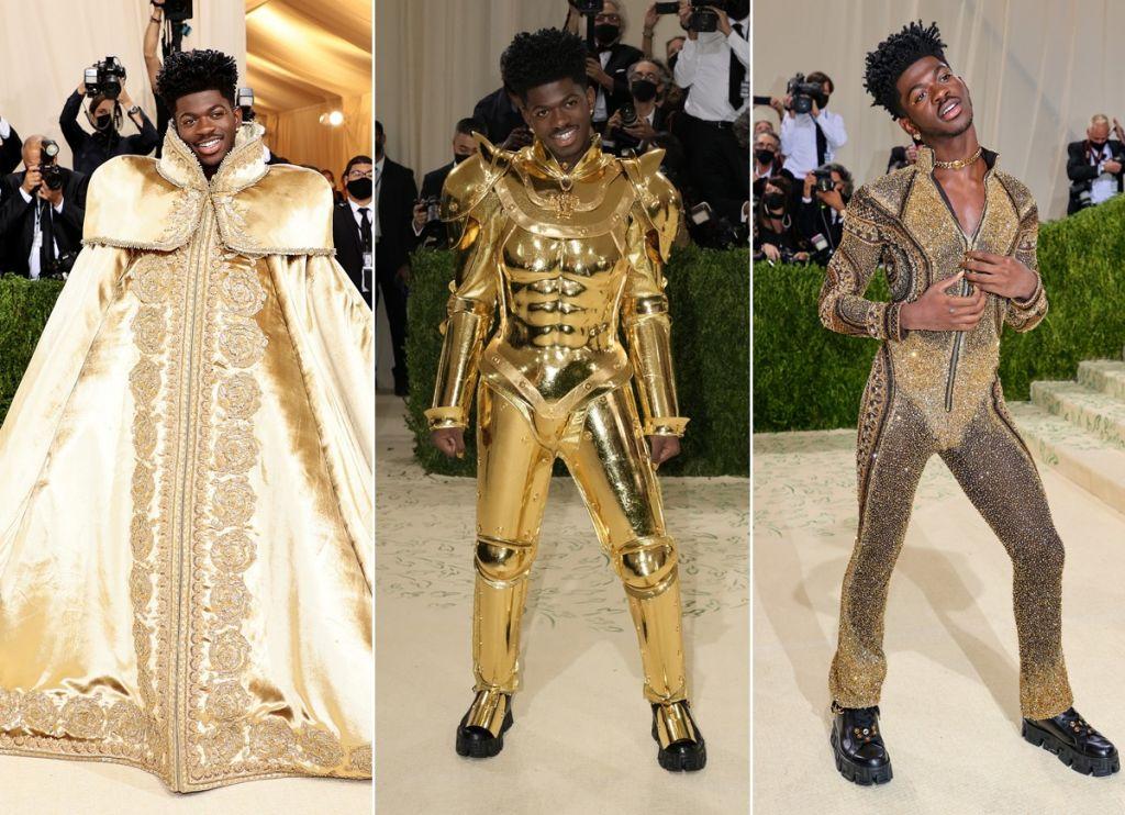 Lil Nas X e os 3 looks do MET Gala 2021