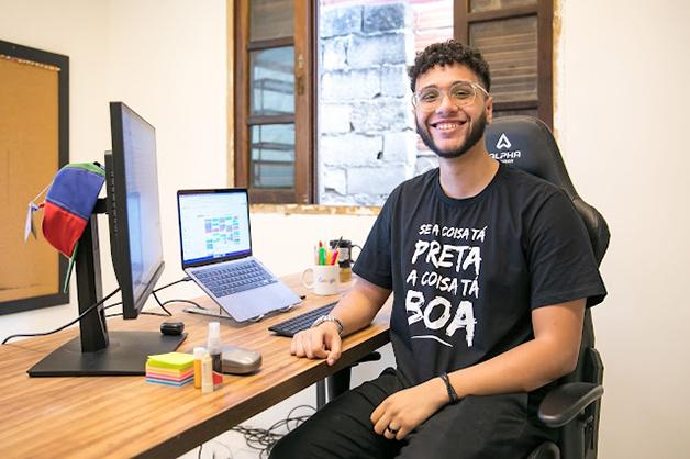 João Victor Nascimento hoje trabalha como Gerente de Contas, e também participou da primeira turma, de 2019
