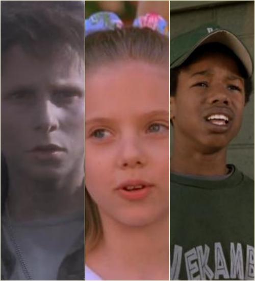 Filmes e séries com atores famosíssimos e irreconhecíveis na tenra infância
