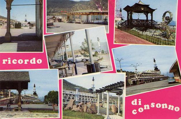 cartão-postal lembra os tempos áureos de Consonno