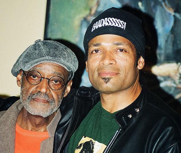 Melvin Van Peebles junto de seu filho, Mario