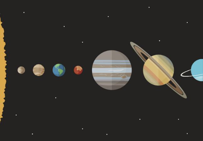 Qual é o tamanho do universo? Ele respondeu de uma forma simples e acessível