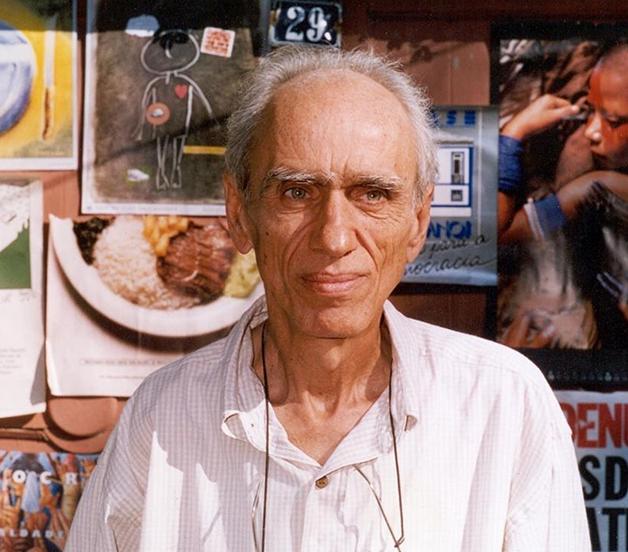 O sociólogo Betinho, criador da ONG