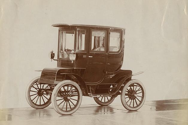 Um dos primeiros modelos elétricos criados por Oliver P. Fritchle