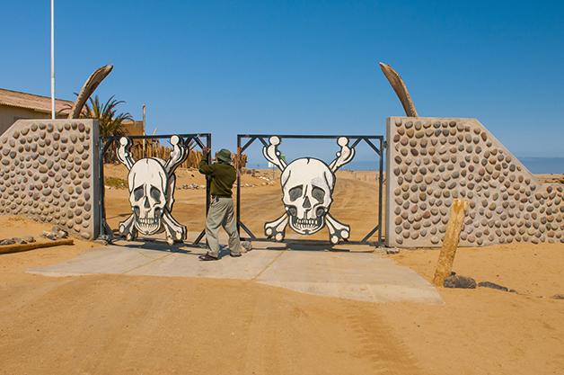 Entrada do Parque Nacional da Costa dos Esqueletos