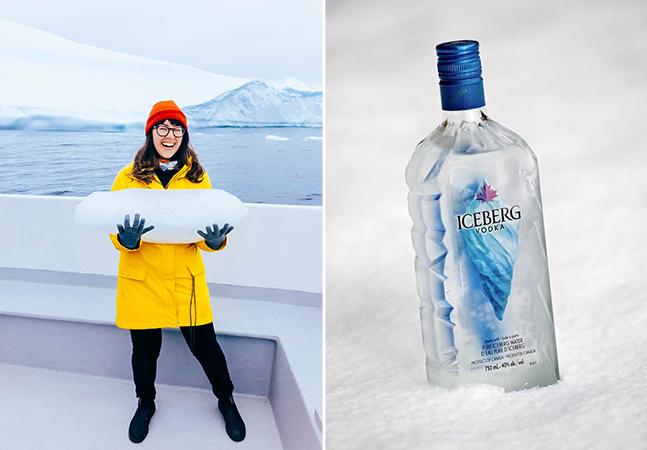 Caça aos Icebergs: gelo de 10 mil anos é utilizado para fabricar a vodka mais pura do mundo
