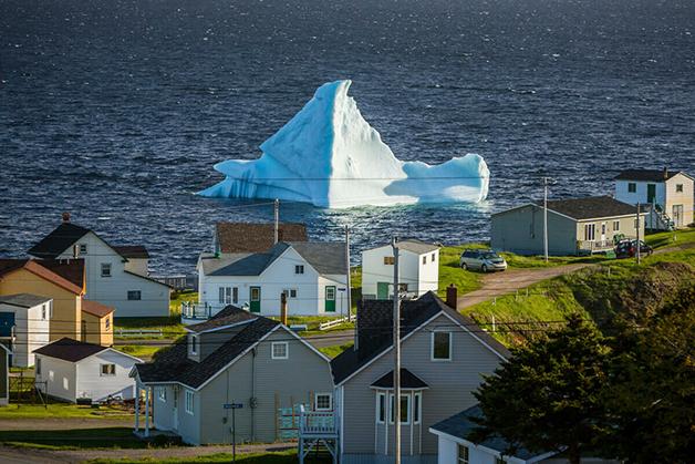 Os desfiles no Iceberg Alley