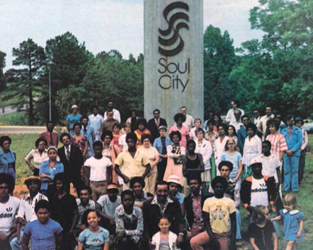 Soul City, cidade construída nos anos 60, uma das inspirações para Freedom