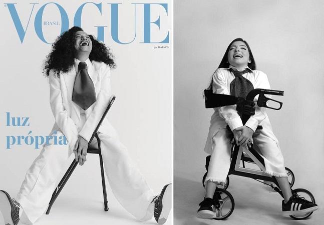 Estilista cria projeto que reproduz capas de revistas de moda com pessoas com deficiência