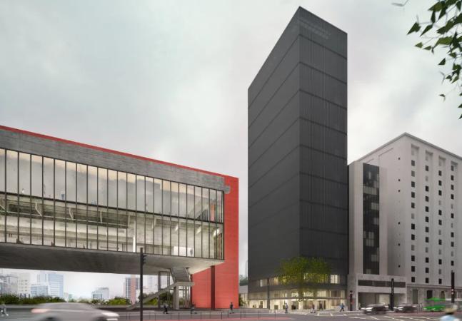 Masp apresenta projeto de reforma que inclui prédio de 14 andares