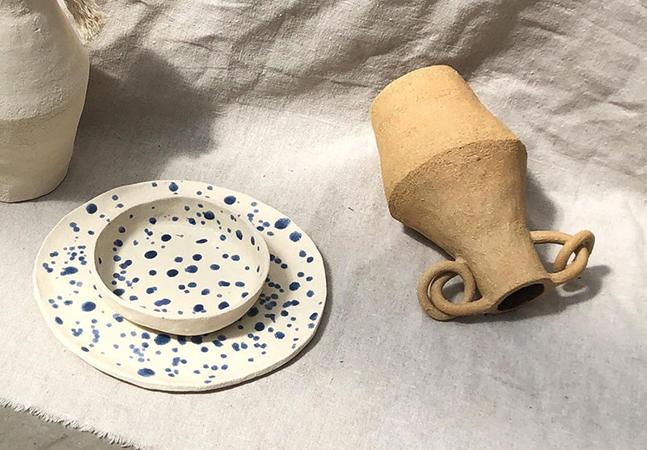 A cerâmica minimalista e elegante de Cassandre Bouilly