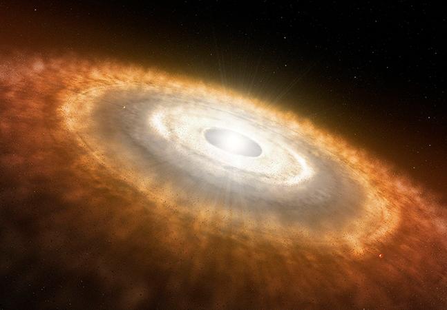'Berçarios' de planetas possuem moléculas necessárias para o surgimento da vida