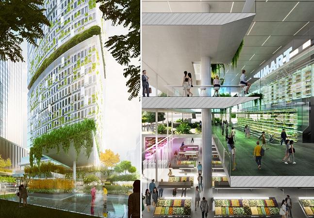 'Arranha-céu-fazenda' produzirá 270 toneladas de alimentos hidropônicos em 51 andares