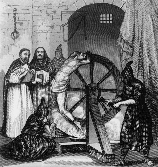 Ilustração do século XVIII mostrando o funcionamento parcial da roda