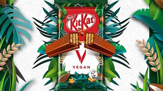 O novo KitKat vegano