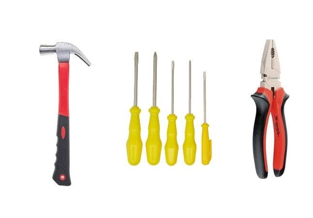 Kit de ferramentas básico que você deveria ter em casa!