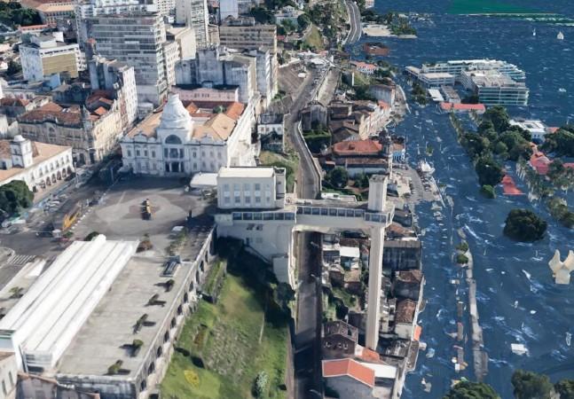 Imagens mostram como nível do mar pode afetar cidades brasileiras com emergência climática