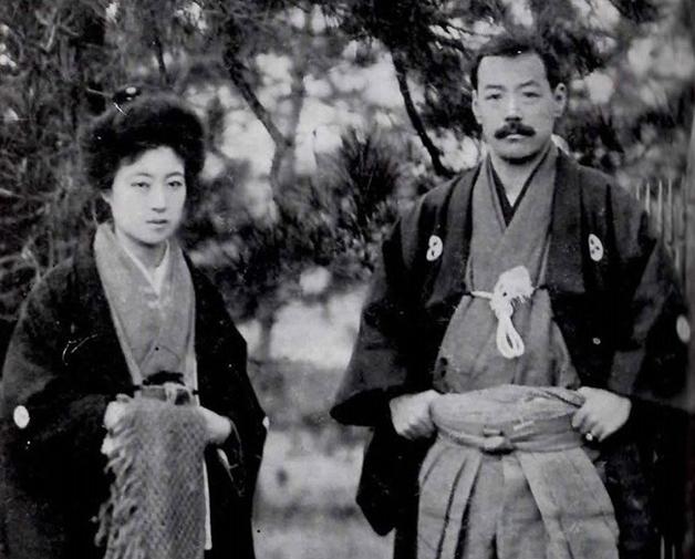 Sada Yacco junto de Kawakami Otojiro