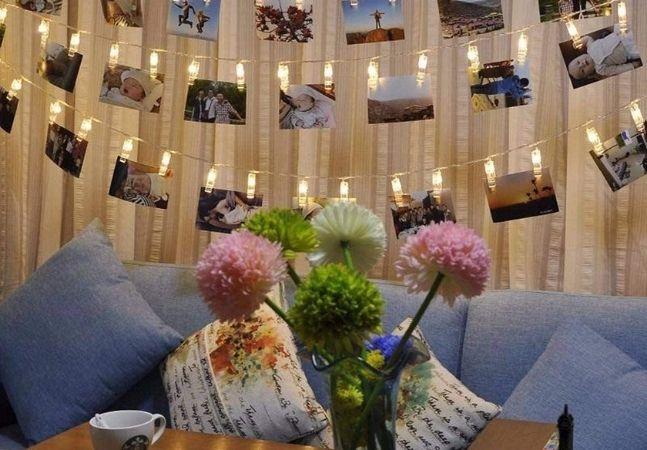 Luzes decorativas para enfeitar a casa o ano todo!
