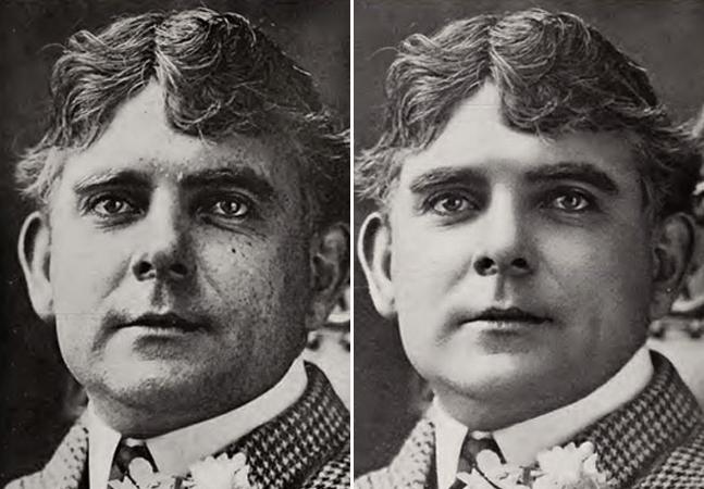 O photoshop já existia muito antes da era digital e este livro de 1909 é a prova disso