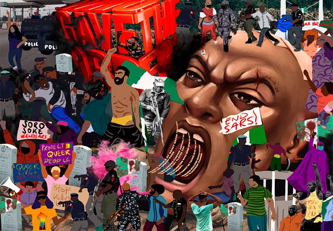Yemi Davis: quem é o artista nigeriano que está utilizando o NFT para protestar contra injustiças e violências