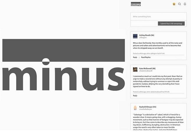 Minus: após anos de estudo, professor cria rede social para criticar Instagram e Facebook