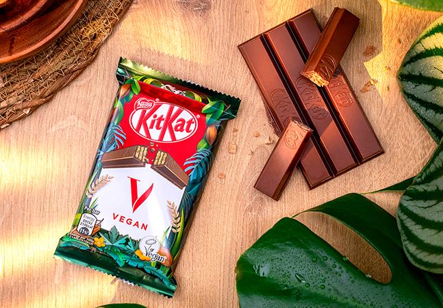 KitKat vegano começa a ser vendido no Brasil em edição limitada