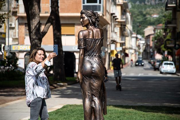 A estátua de Sapri
