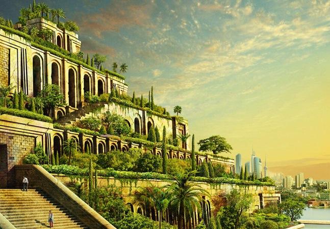 Como seriam estes míticos monumentos históricos se tivessem sobrevivido ao tempo