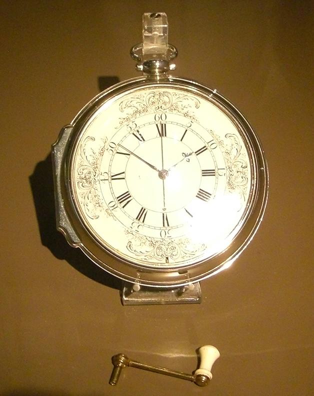 Modelo do H4, relógio desenvolvido por John Harrison