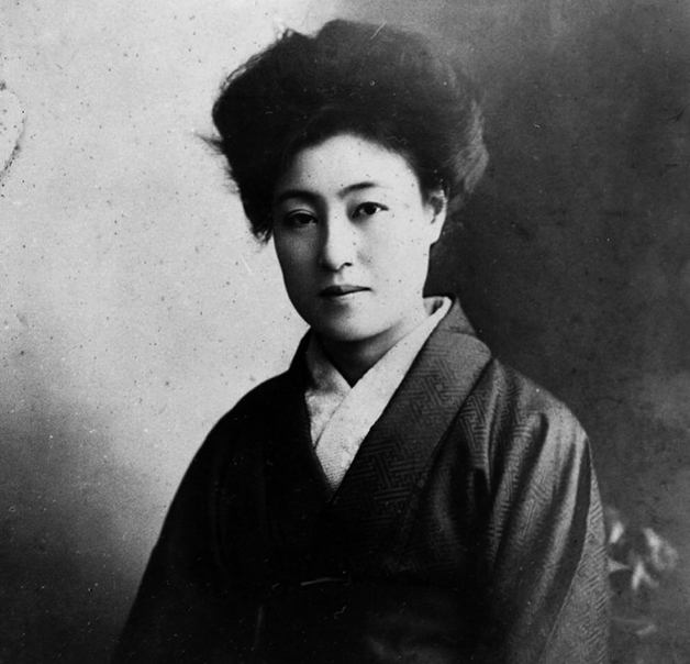 A artista japonesa Sada Yacco