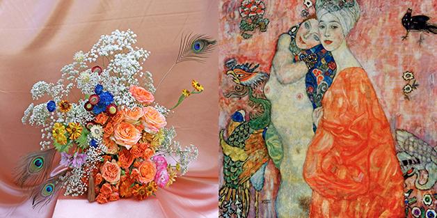 """""""As amigas II"""", de Gustav Klimt (1916-17)"""