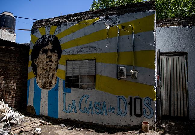 Casa onde Maradona viveu na infância torna-se Patrimônio Histórico da Argentina