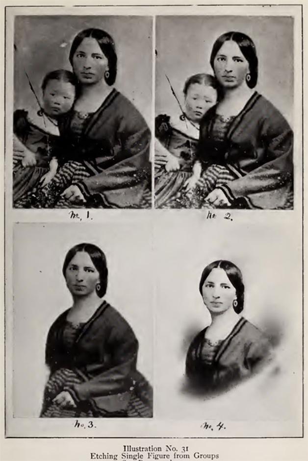 Fotos manipuladas antes do Photoshop