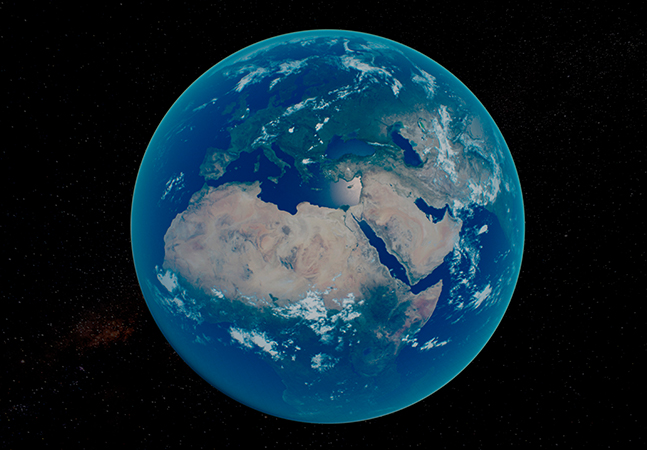 Terra está diferente vista do espaço e a explicação pode estar na emergência climática